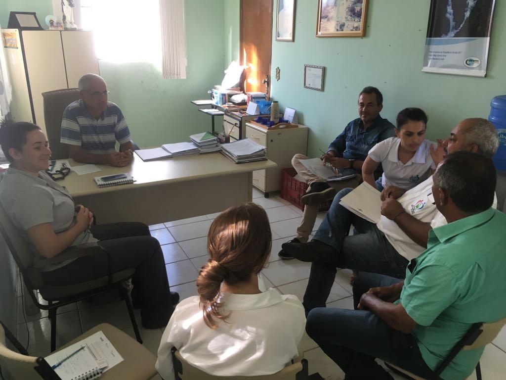 ReunIão com Prefeitura de São Gonçalo do Abaeté