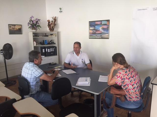 Reunião com ICMBio - Estação Ecológica de Pirapitinga