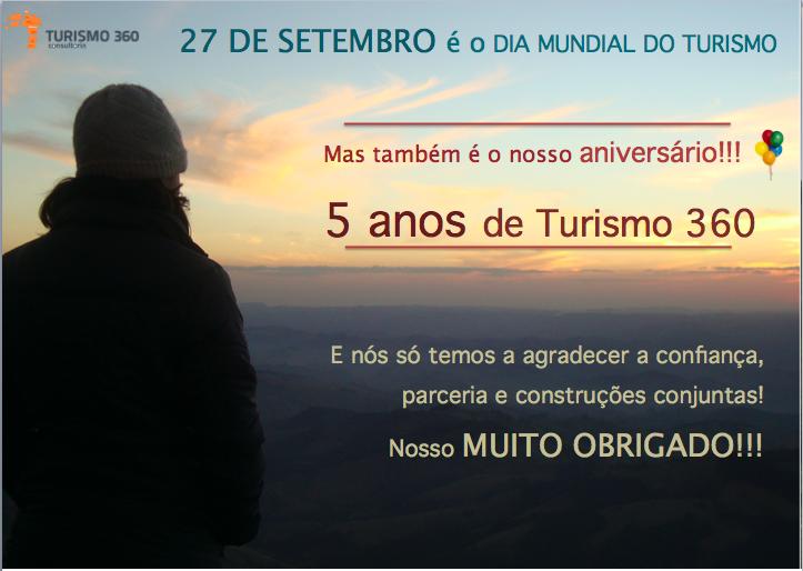 Dia Mundial do Tur e Aniversário T360