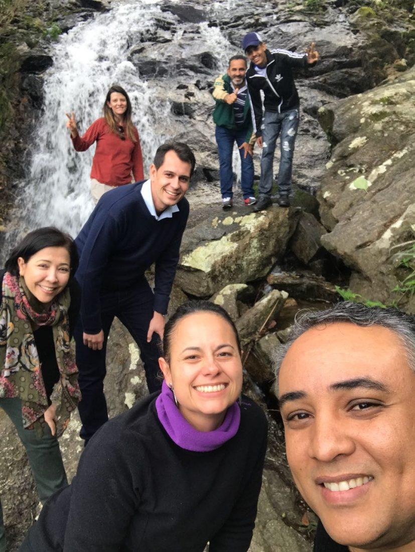 Cachoeira em Miracatu